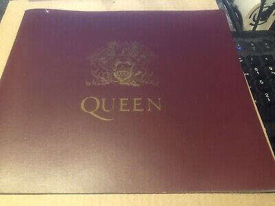 Queen A4 Booklet From The Box Of Trix Boxset Excellent • 5.50£