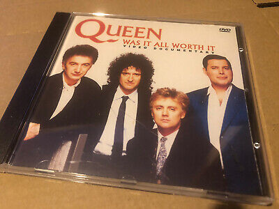 Queen Was It All Worth It Rare Video Documentary Dvd Ntsc Nr Mint • 1.20£