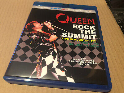 Queen Rock The Summit Live In Houston 1977 Rare Blu. Ray Limited Edition • 25£
