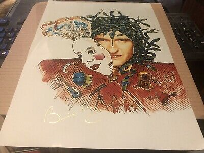 Queen Brian May Beautiful Innuendo Design Picture Poster Limited • 41£