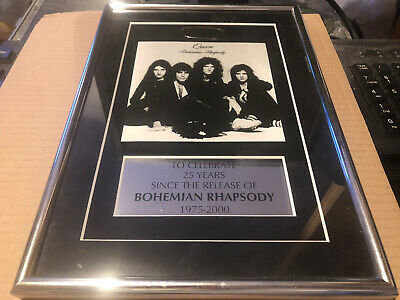 Queen 25th Anniversary Of Bohemian Rhapsody Limited 1975 -2000 Fanclub • 40£