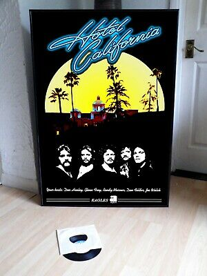 The Eagles Hotel California Promo Poster,rock.folk,country,thrill, • 29.99£