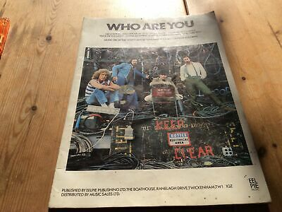 The WHO Sheet Music Book • 2£
