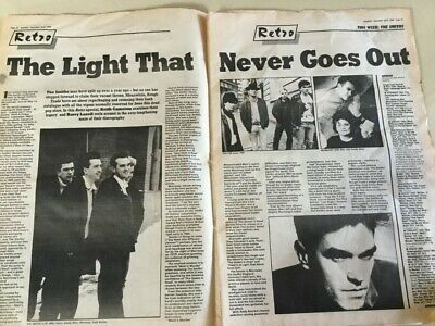 Sounds Magazine December 1988 The Smiths Morrissey The Pixies The Mission Rem • 3.99£