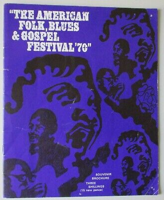 The American Folk, Blues,gospel Festival.uk Programme.1970.champion Jack Dupree  • 19.99£
