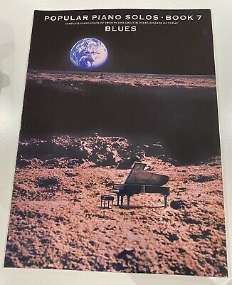 Popular Piano Solos Book 7 - Blues - Music Book By Frank Booth • 5£