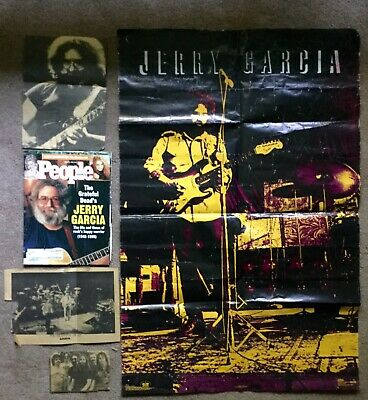 1993 Jerry Garcia Poster Winterland Productions, August 21, 1995 People Magazine • 2.89£