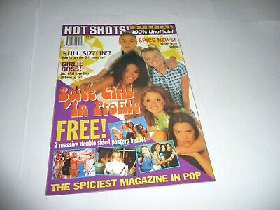 Hot Shots Special - Spice Girls In Profile Magazine (1997) • 13.50£