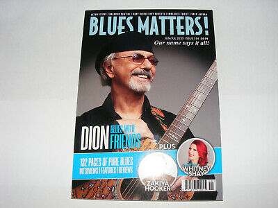 Blues Matters Mag-no 114-dion-whitney Shay-rory Block-sass Jordan-roy Roberts • 3.99£
