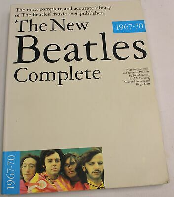 The New BEATLES Complete 1967-70 Book Wise Publications - S38 • 4.99£