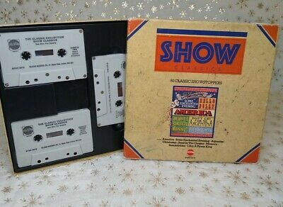 Telstar Show Classics Cassette Box Set 50 Classic Showstoppers Musicals    • 9.99£