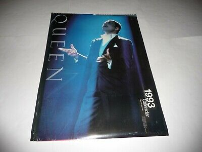 Queen - 1993 Calendar (Copyright Approved) SEALED • 16£
