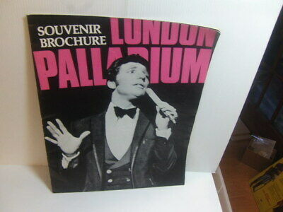 Tom Jones / The Shadows / Michael Bentine 1968 London Palladium Programme  • 7£