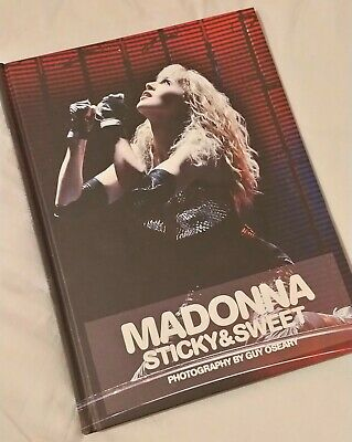 MADONNA Sticky&sweet Photography By Guy Oseary Book • 30£