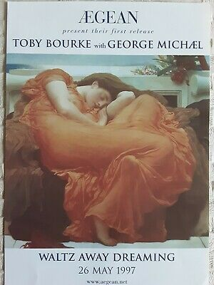 Waltz Away Dreaming Toby Bourke With George Michael Flyer • 1.50£