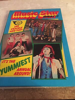 Music Star Annual 1977 Osmonds Bay City Rollers Not Price Clipped • 5.99£