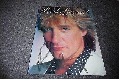 Rod Stewart Visual Documentary Book Autographed By Rod  • 19.99£
