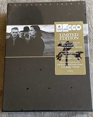 2007~U2~The Joshua Tree~20th Anniversary Deluxe Edition(New & Sealed) 2xCD & DVD • 69£