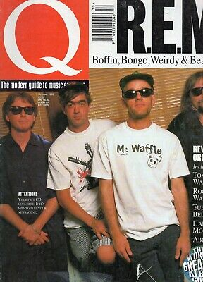 1992 Q Music Magazine (REM) October 1992 • 2£