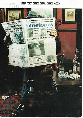 Bluetones - Promotional Postcard Are You Blue Or Are Blind - Brit Pop - FREE P+P • 3.99£