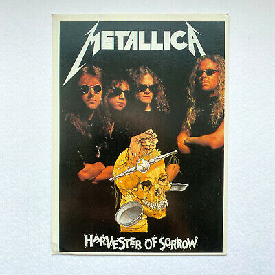 Metallica Postcard - Harvester Of Sorrow - Heavy Metal Print • 4.99£