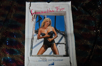 Samantha Fox - Official 1997 Calendar RARE • 35£