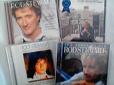 ROD STEWART 5 NEW Cd Albums GREAT AMERICAN SONGBOOK  Greatest Hits FALL IN LOVE • 3.99£