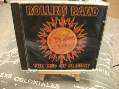 Henry Rollins Rollins Band CD CASE ONLY CASE ONLY CASE ONLY The End Of Silence • 3.49£