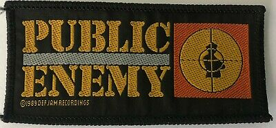 Public Enemy -  Woven Sew On Patch • 3£