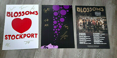 3 X Blossoms Signed Posters  • 39.95£