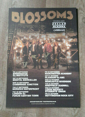 Blossoms Signed Poster  • 15.95£