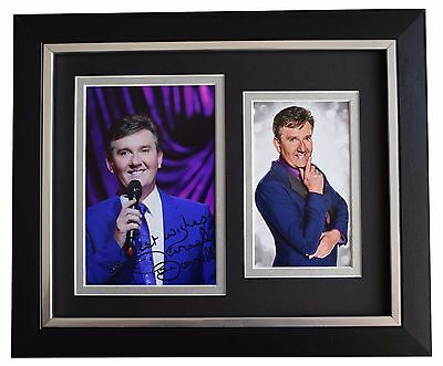 Daniel O'Donnell SIGNED 10x8 FRAMED Photo Autograph Display Irish Music COA • 49.99£