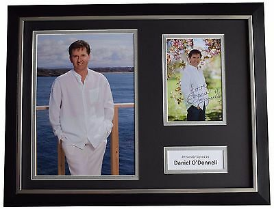 Daniel O'Donnell Signed FRAMED Photo Autograph 16x12 Display Music AFTAL COA • 99.99£