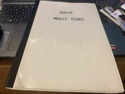 Queen Magic Years Limited Edition Press Cuttings Folder • 0.99£
