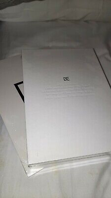 BTS BE Album Deluxe New Unsealed Photocards, Postcard, Poster & Notebook • 30£