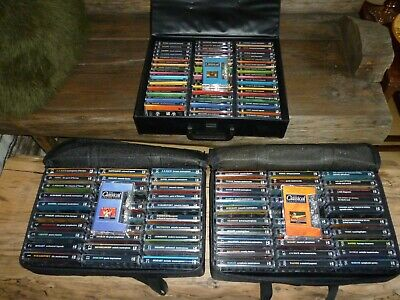 The Classical Collection -105 Music Cassette Tapes & Storage Cases • 45£