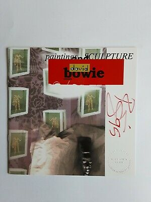 David Bowie Signed Painting And Sculpture New Afro/Pagin Catalogue 1995 • 1,000£