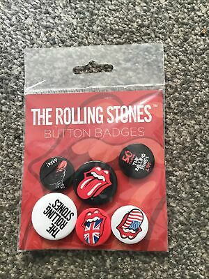 The Rolling Stones Button Badge Pack • 4£