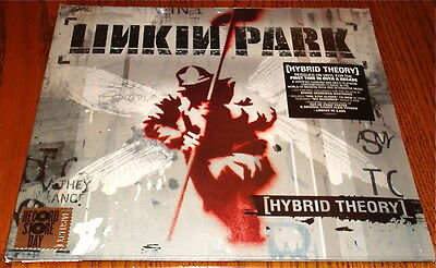 LINKIN PARK HYBRID THEORY LIMITED EDITION LP WITH POSTER & STICKER Sealed  RSD • 233.68£