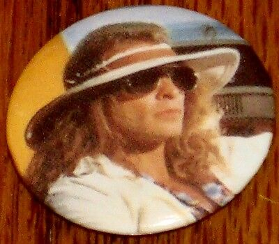 David Lee Roth Button   New!  Van Halen!  Rock & Roll! • 23.61£
