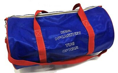Beatles Paul McCartney 1982 Tug Of War UK Promotional Gym Bag • 400£
