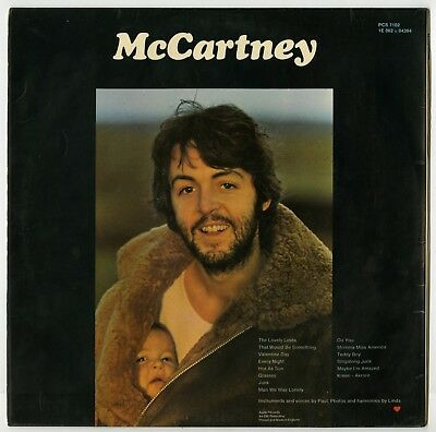 Paul McCartney 1970 McCartney Export Album Parlophone PPCS 7102  (UK) • 1,250£