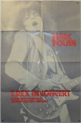 T Rex In Concert Promotional Poster (UK) • 125£