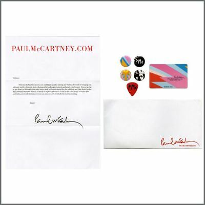 Paul McCartney 2011 Fan Club Premium Membership Pack • 35£