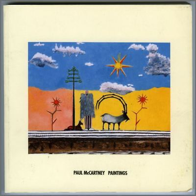 Paul McCartney 1994 Paintings Book (UK) • 275£