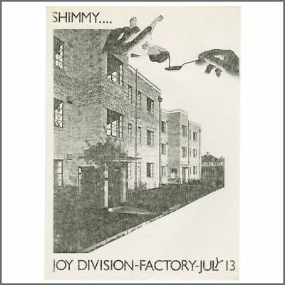 Joy Division 1979 The Factory Manchester Flyer (UK) • 1,650£