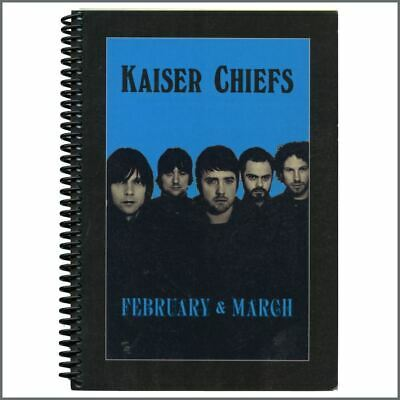 Kaiser Chiefs 2007 Yours Truly, Angry Mob Tour Itinerary (UK) • 27.50£