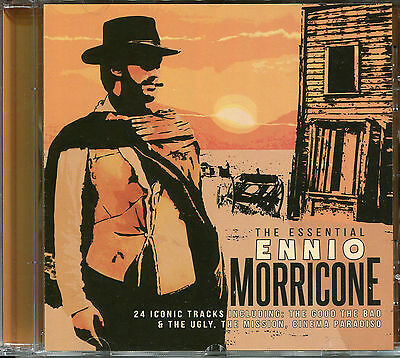 The Essential Ennio Morricone Cd, A Fist Full Of Dollars, The Mission & More • 6.99£