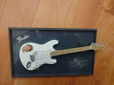 Atlas Editions - Keith Richards Fender Stratocaster - Mini Guitar Replica Model • 29.99£