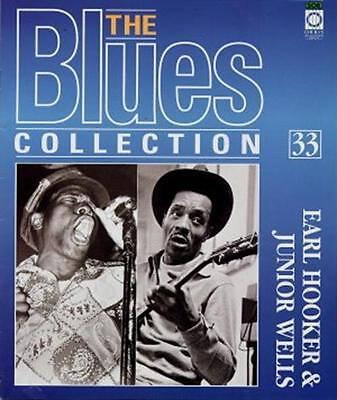 Earl Hooker & Junior Wells Blues Magazine With Free CD • 11.77£